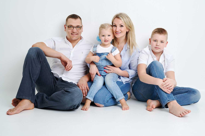Family Portrait Studio 0097