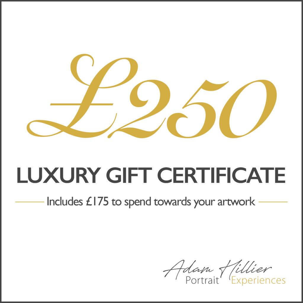 £250 Portrait Gift Certificate