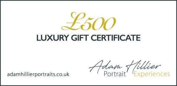 £500 Luxury Gift Certificate